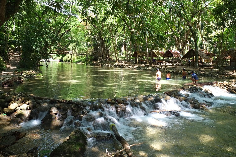 Dimapatoy River in Brgy. Awang, Datu Odin Sinsuat