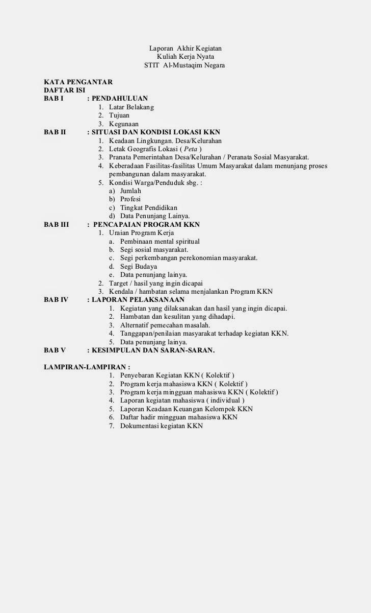 Daftar Isi Makalah Yang Benar Auto Electrical Wiring Diagram