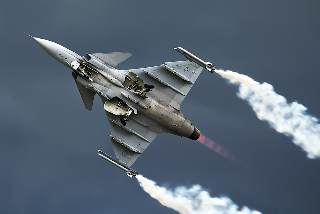 Sweden Air Force Saab JAS-39 Gripen