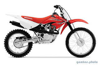 Honda CRF100F motorcycle