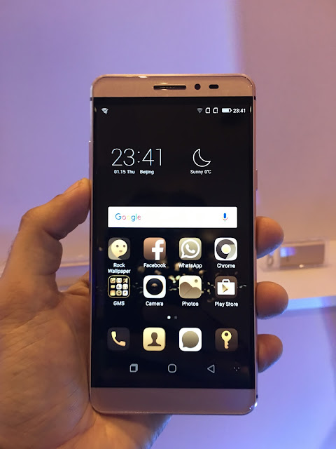 """Coolpad Launches its Flagship phone Coolpad Max with Unique """"Dual Space"""" Feature in India for Rs. 24999"""