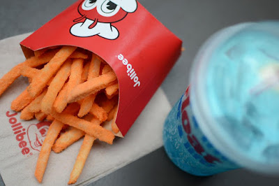 Jollibee's Ultimate Snack Combo: Jolly Crispy Flavored Fries + Fruity Floats