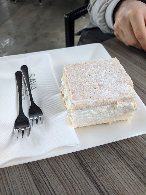 Day trip to Lake Bled Slovenia: Try Slovenian Cream Cake