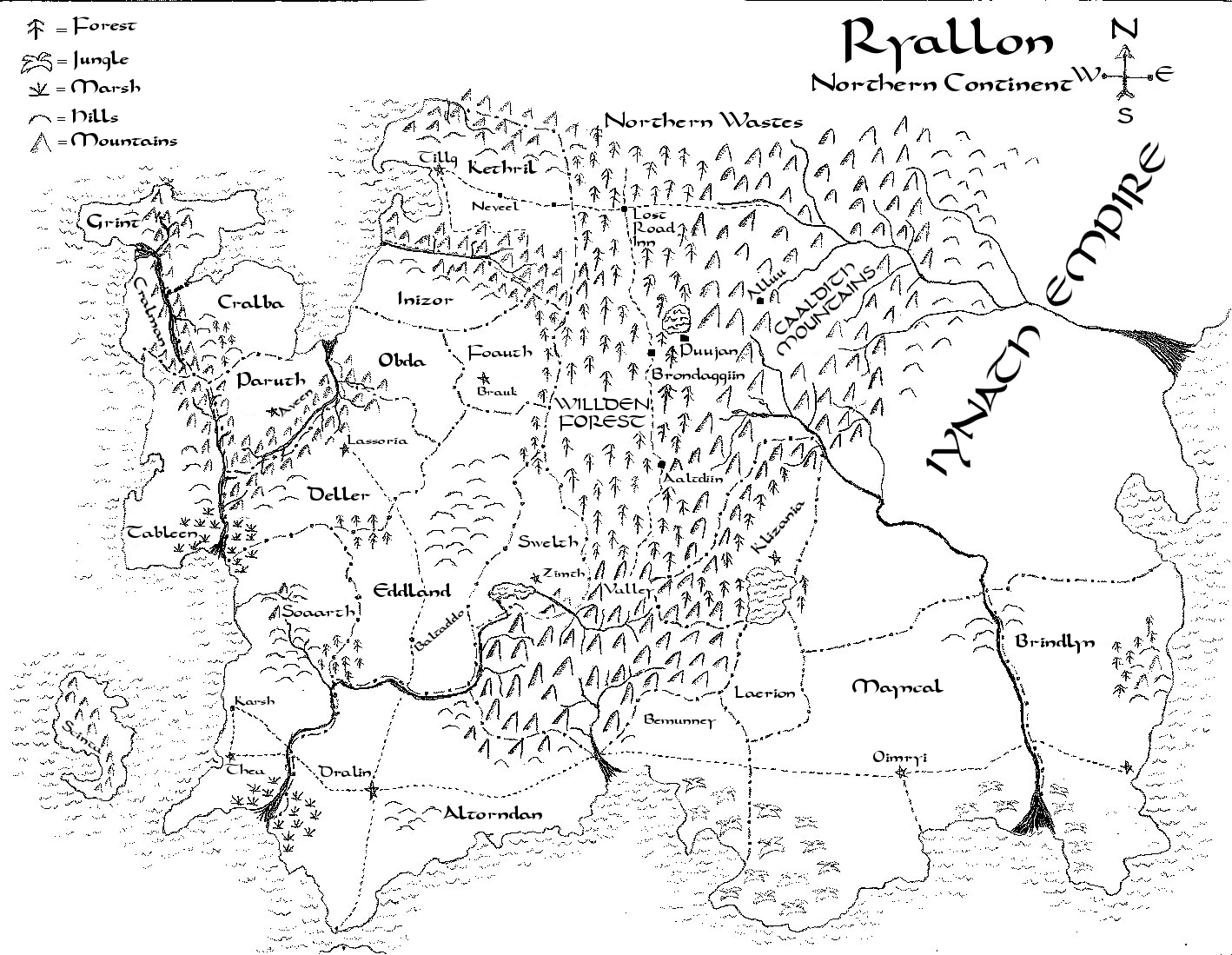 The World Of Ryallon Mapmaking For Fantasy Worlds