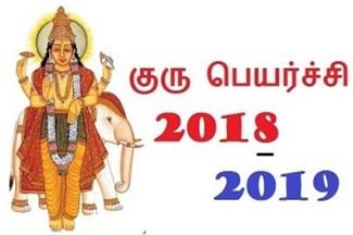 Guru Peyarchi 2018 – 2019 | Astro Mani