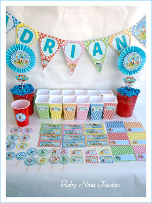paw patrol kit party birthday