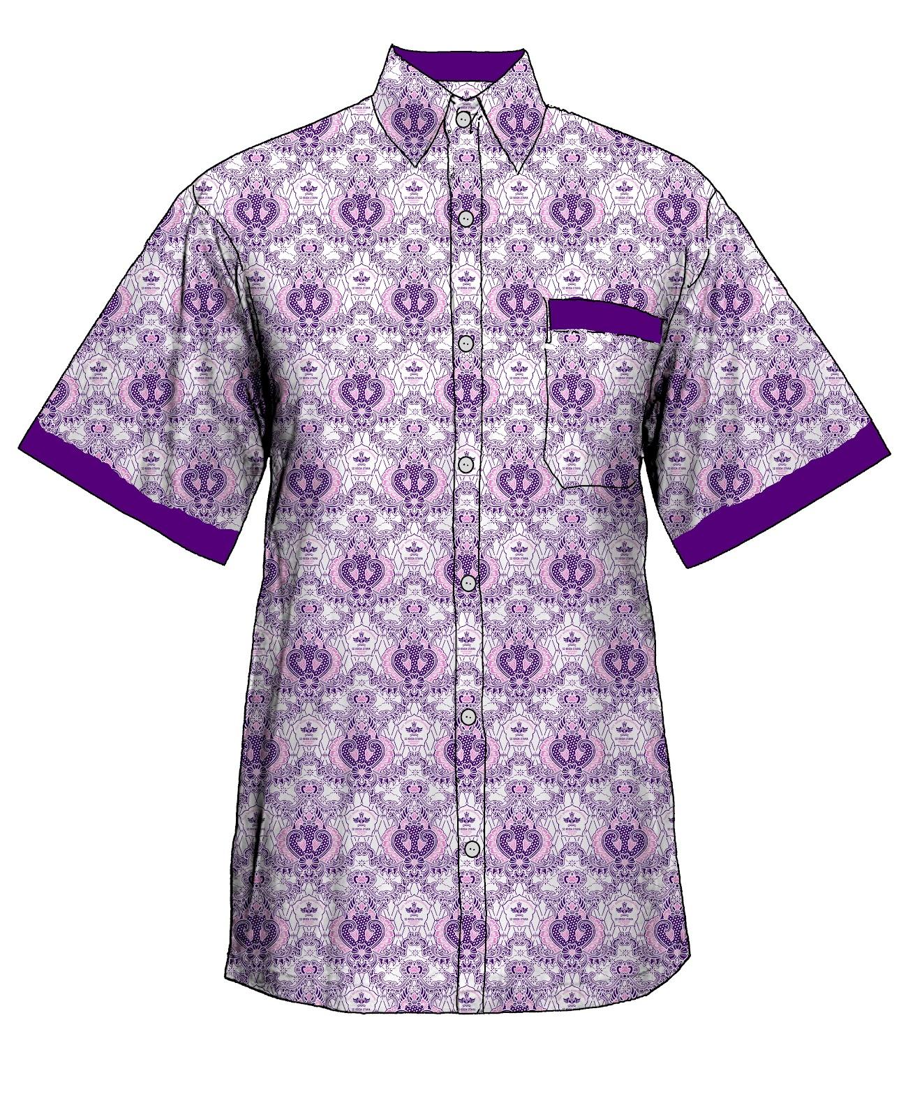 Contoh Baju Seragam Batik Sekolah: 7+ Model Baju Batik Seragam Sekolah Modern Terbaru 2016