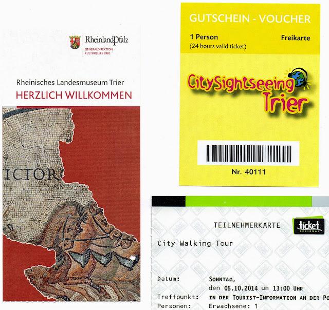 passes de atrações em Trier