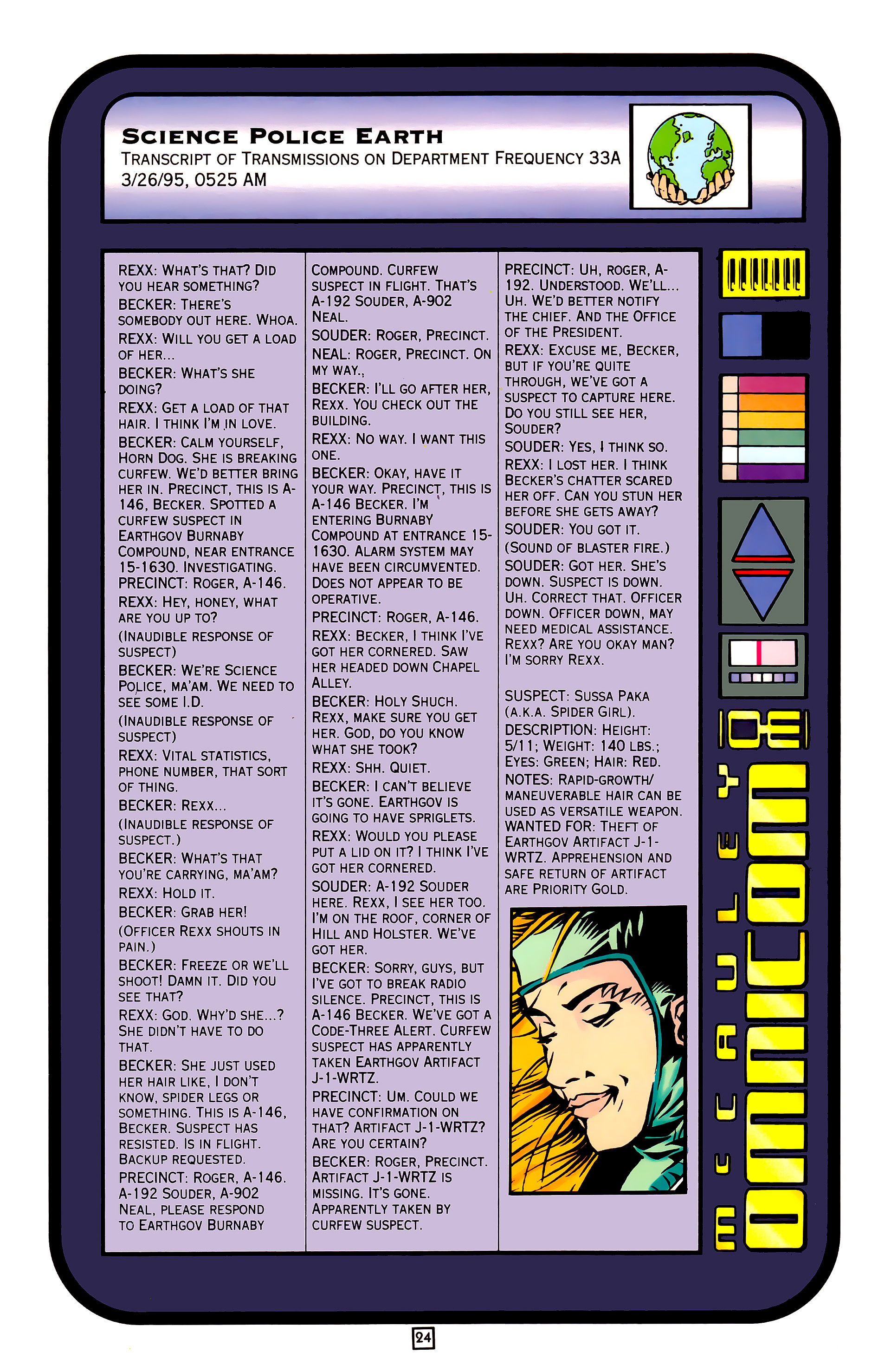 Legion of Super-Heroes (1989) 27 Page 24