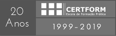 Logotipo 20 anos CERTFORM