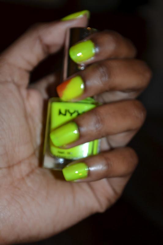 Spring 2012 || Neon Nail Polish