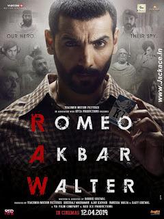 Romeo Akbar Walter First Look Poster 1