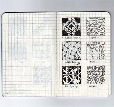 Silvia Barzola Arte Zentangle Texturas Visules