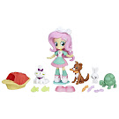 MLP Equestria Girls Minis Mall Collection Pet Spa Fluttershy Figure