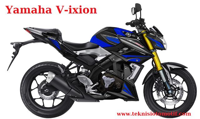Yamaha V-ixion 150 (150 CC, ± 24 Jutaan, Naked)