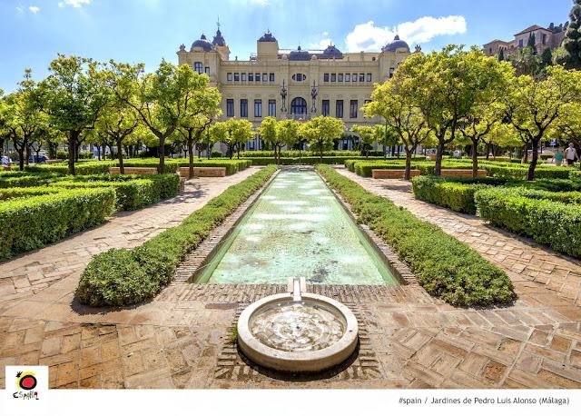 O que fazer em Málaga em 1 dia? Jardines de Pedro Luís Alonso