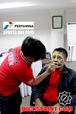 Face Painting Tiger Jakarta