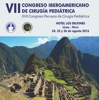 VII CIRUGIA PEDIATRICA CONGRESO IBEROAMERICANO 2016
