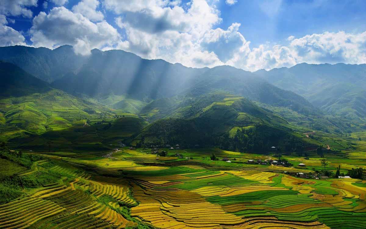 ngất ngây với vẻ đẹp ruộng bậc thang Hoàng Su Phì
