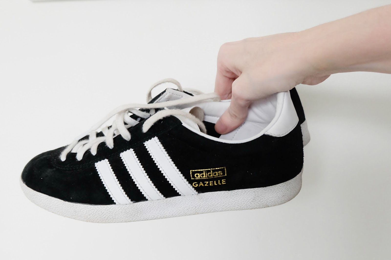 Adidas Gazelle review, adidas gazelle black