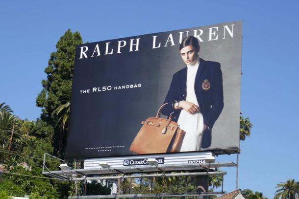 Ralph Lauren RL50 Handbag billboard