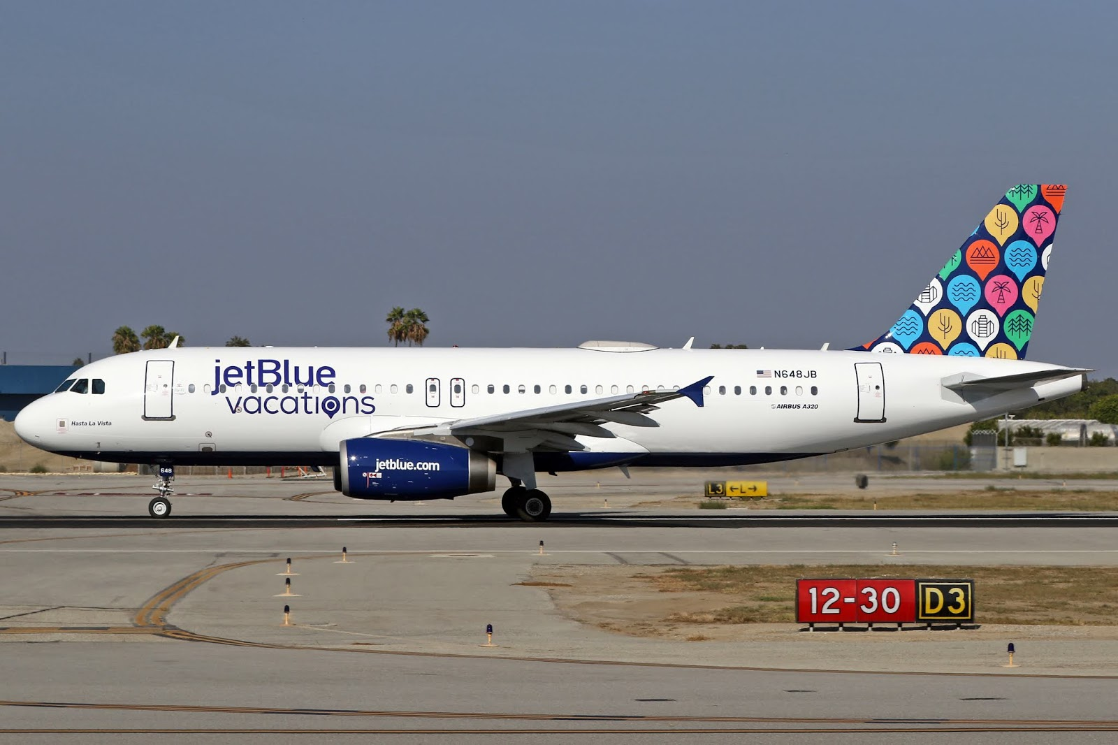 Aero Pacific Flightlines jetBlue Airbus A320232 cn