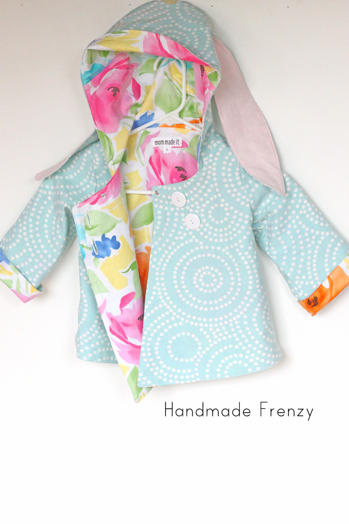 Bunny Swing Coat for Easter!
