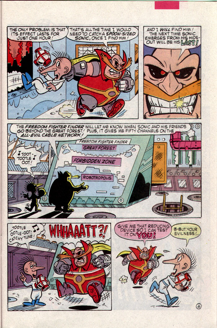 Read online Sonic The Hedgehog comic -  Issue #8 - 17