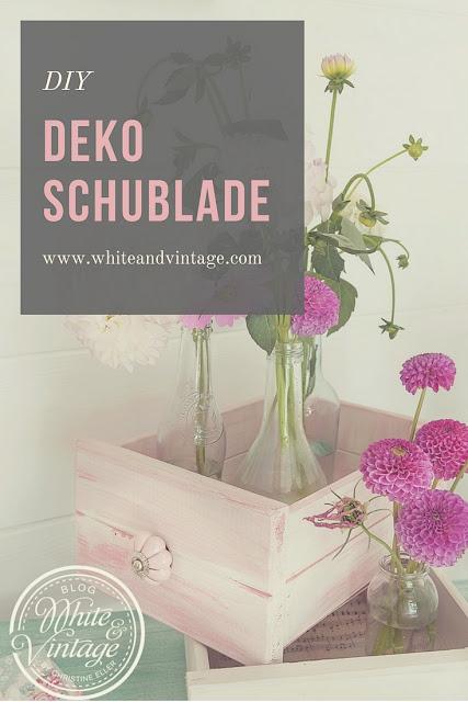 Deko Schublade selber machen