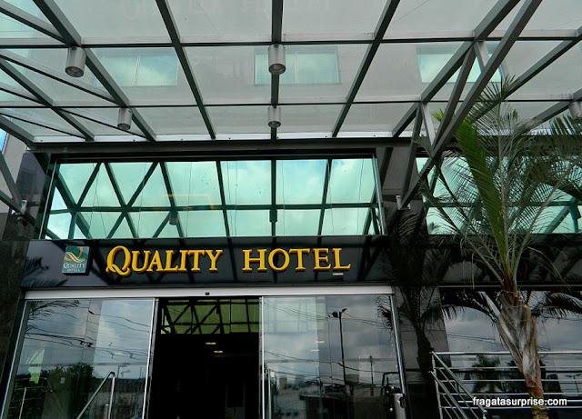 Fachada do Quality Hotel Pampulha, Belo Horizonte