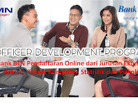 Bank BTN - Pendaftaran Online (Close 31 Mei 2018)