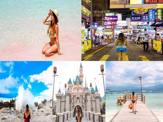 This Young Filipina Is Making $70,000 Just By Traveling Across The World! Amazing!