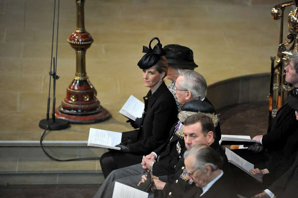 Sophie, Countess of Wessex, attended the reinterment ceremony for King Richard III at Leicester Cathedral