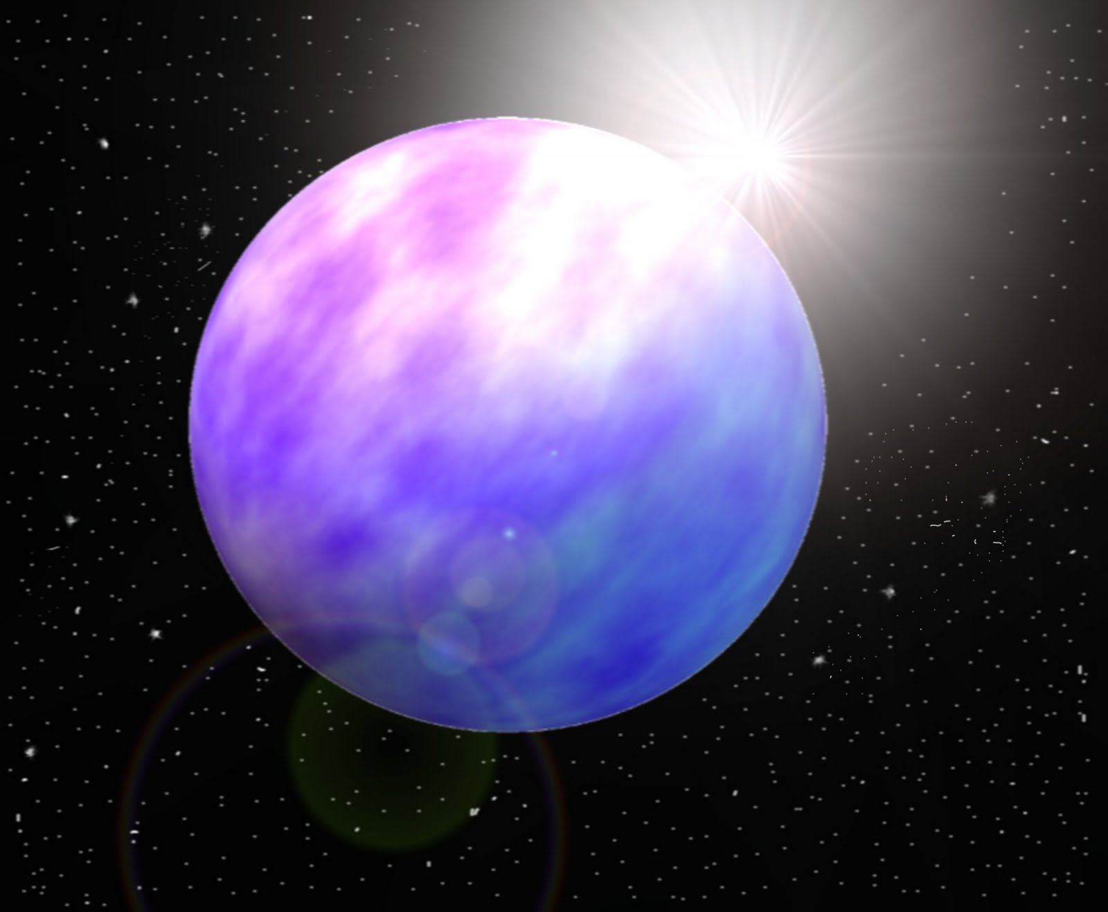 Largest Gas Giant Planet - Pics about space