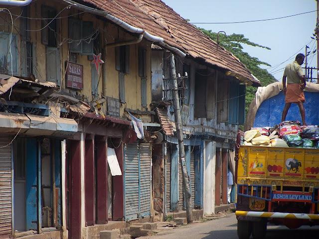 Rue près de Fort Kochi