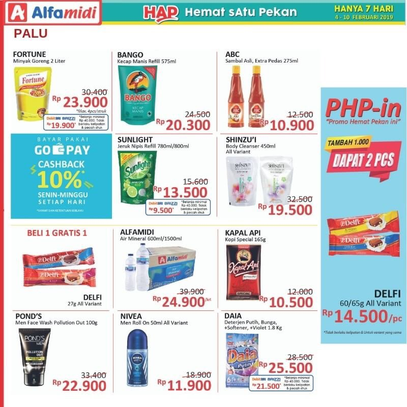 #Alfamidi - #Promo #Katalog Hemat Satu Pekan Periode 04 - 10 Feb 2019
