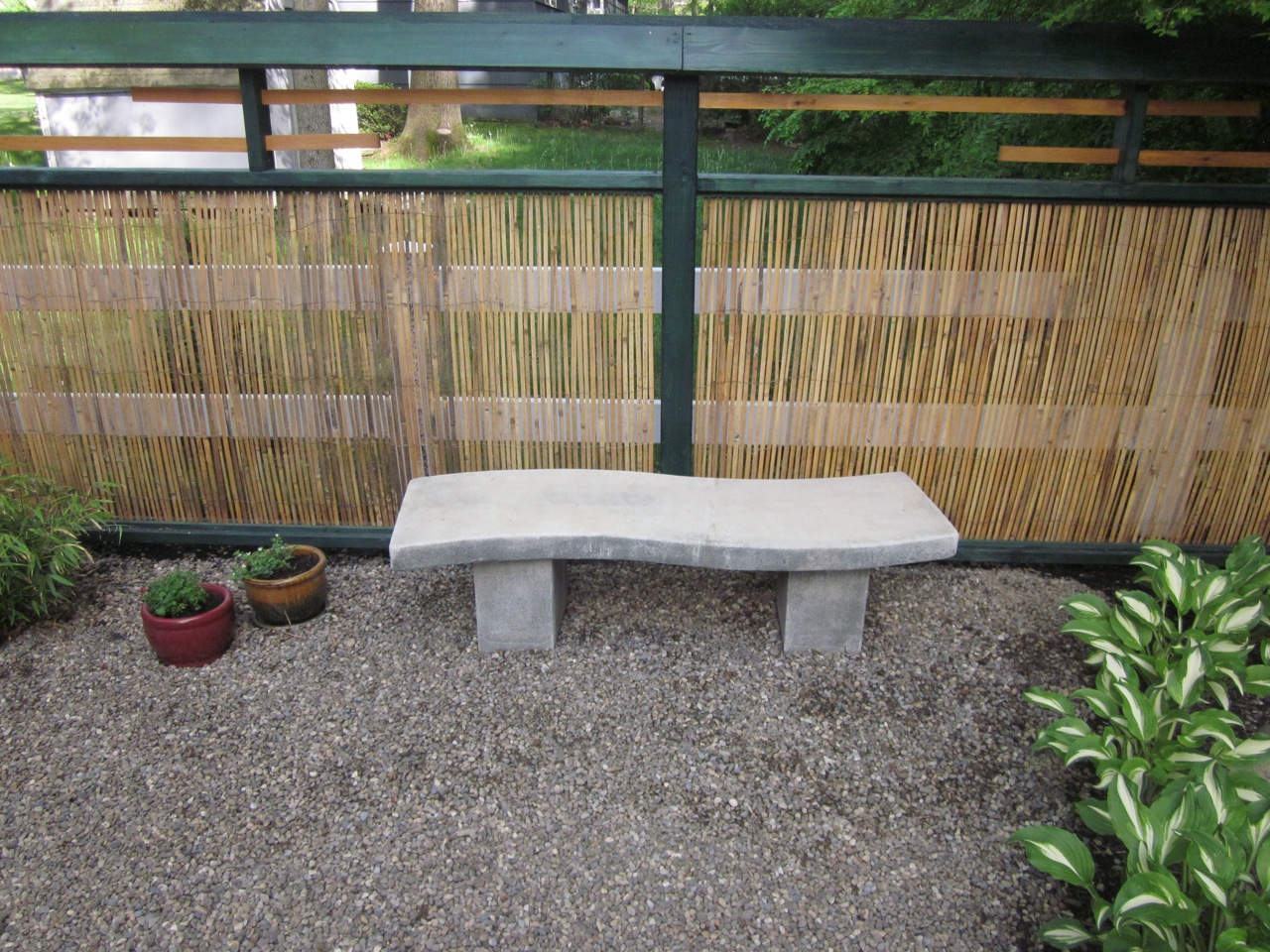 My Zen Garden: S-Shaped Bench
