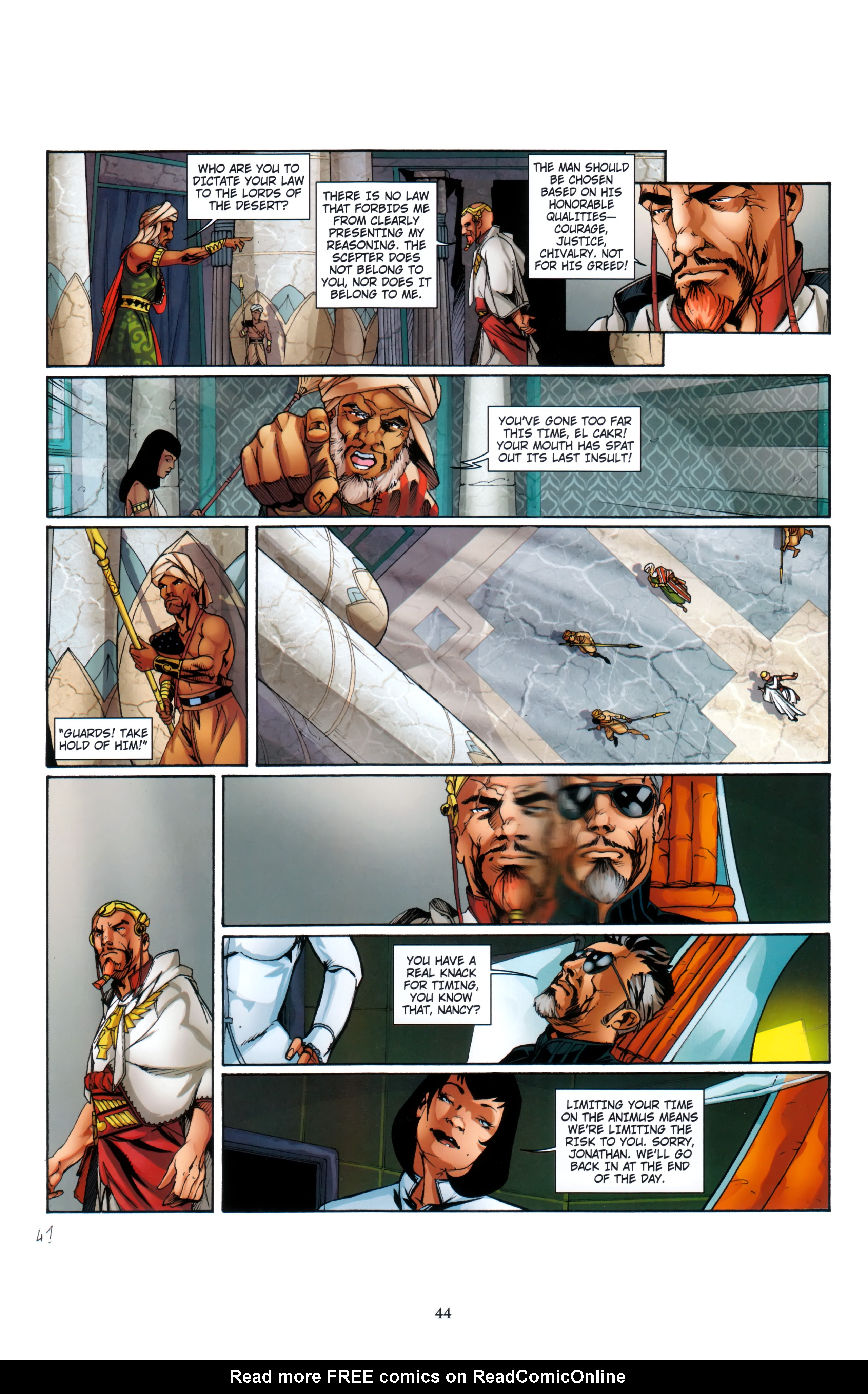 Read online Assassin's Creed (2012) comic -  Issue #5 - 44