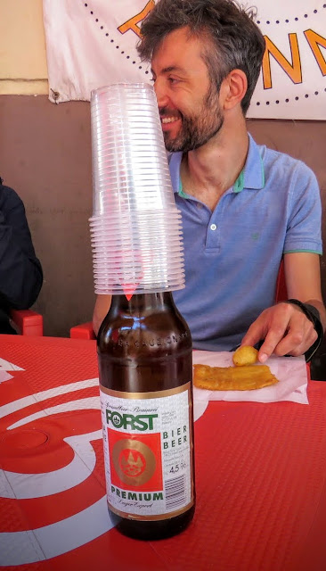 Streat Palermo Tour Sicily - Forst beer