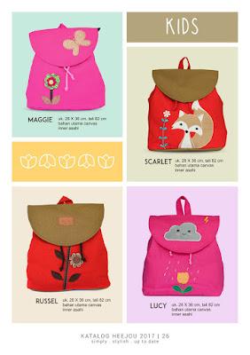 tas anak lucu, tas ransel anak, grosir tas anak lucu