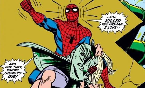 kematian superhero gwen stacy spiderman