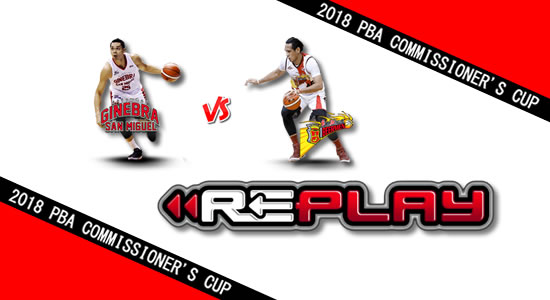 Video Playlist: Ginebra vs SMB game replay June 3, 2018 PBA Commissioner's Cup