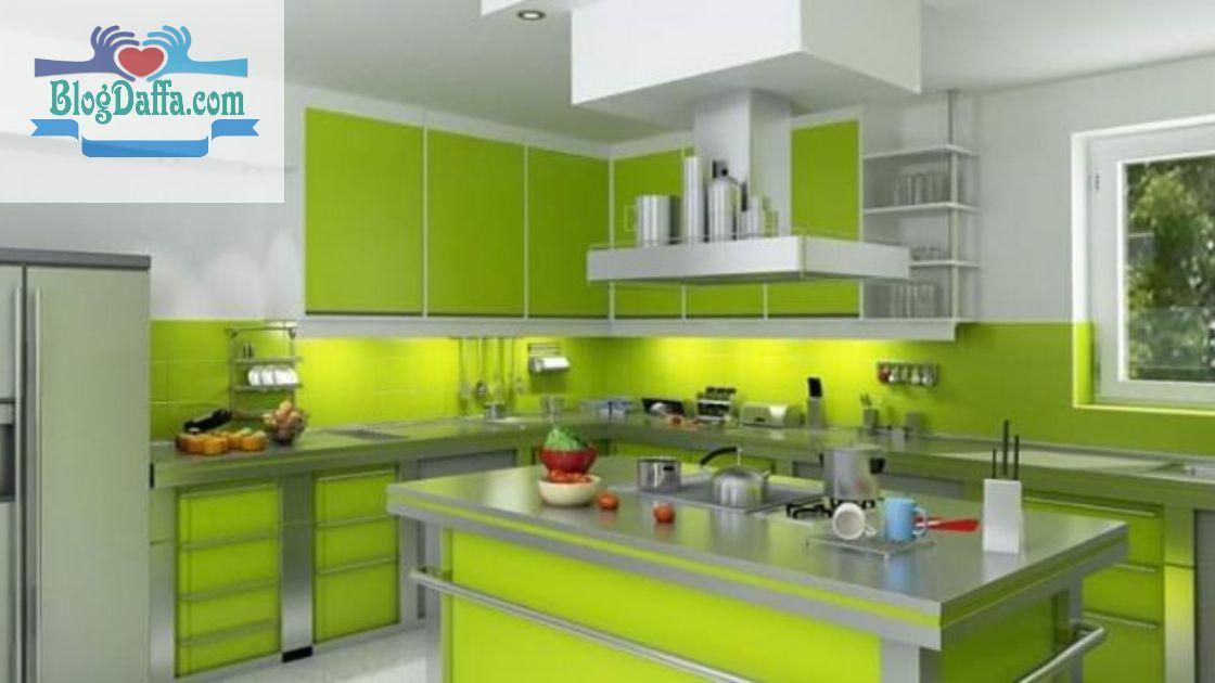 Rekomendasi warna cat terbaik untuk dapur