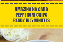 Amazing No Carb Pepperoni Chips Ready in 5 Minutes