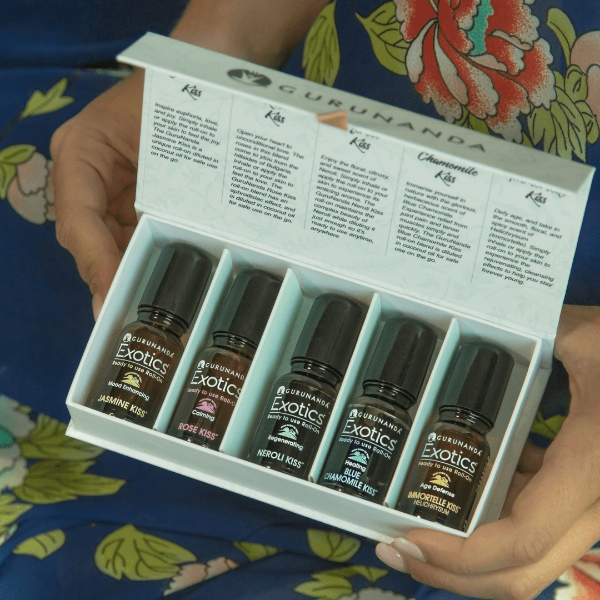 GuruNanda Kissed Collection Essential Oils Giveaway