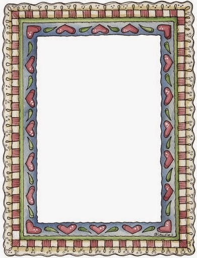 hearts free printable frames borders and labels
