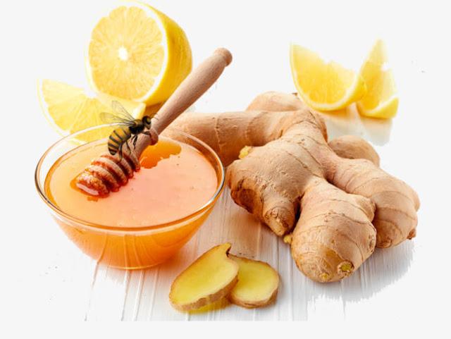 علاج الكحة بالزنجبيل والليمون