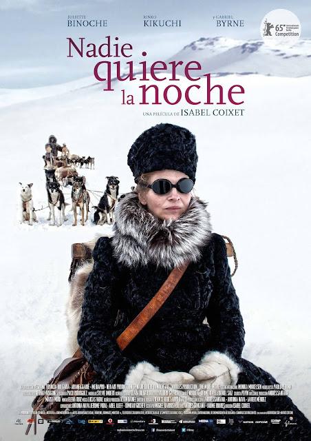 Cartel: Nadie quiere la noche (2014)