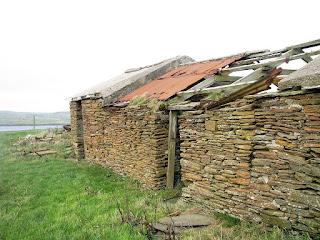 The old croft and buildings of Breckan, Graemsay