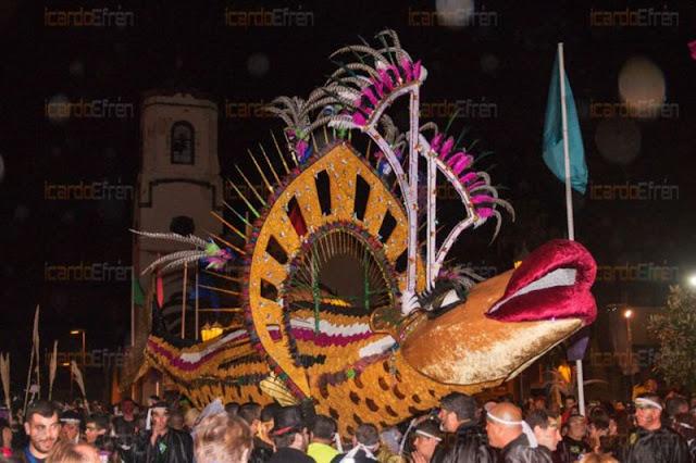 El Entierro de la Sardina concentrará a miles de personas este sábado en San Andrés y Sauces